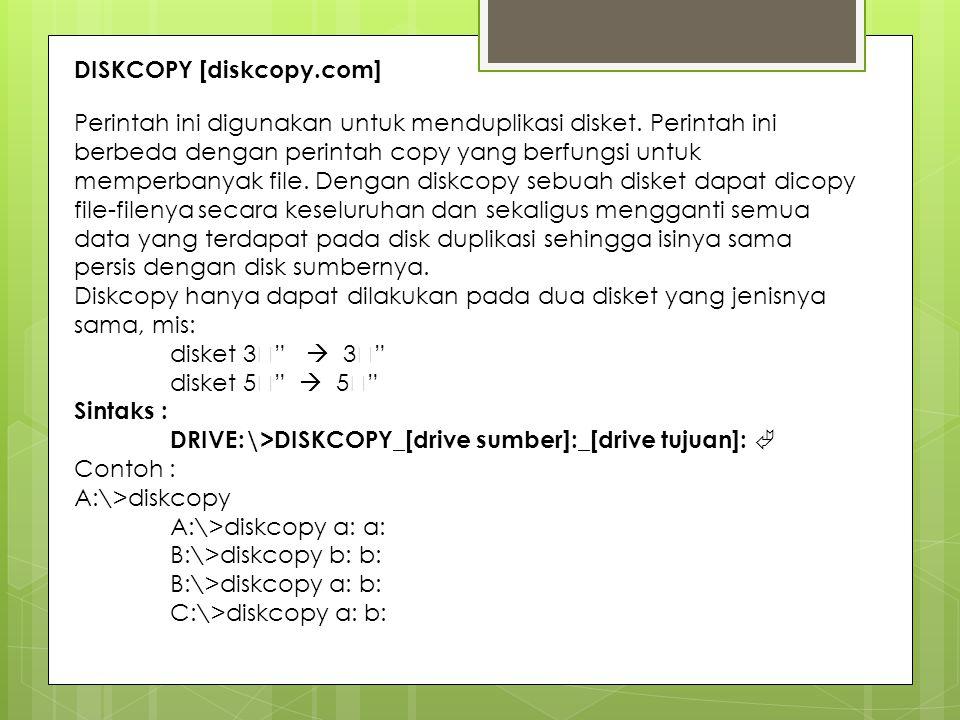 DISKCOPY [diskcopy.com]